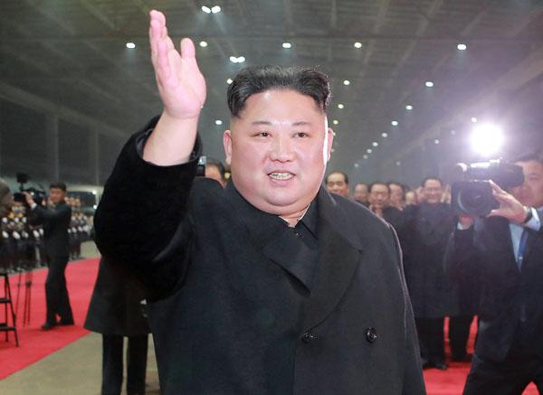 帰国した金正恩朝鮮労働党委員長(C)ロイター