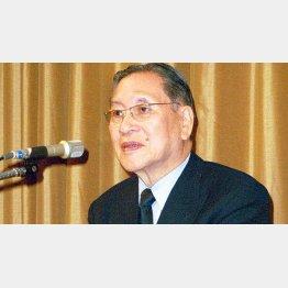 執行役員制度を日本で初めて立ち上げたソニー大賀典雄元会長(C)日刊ゲンダイ