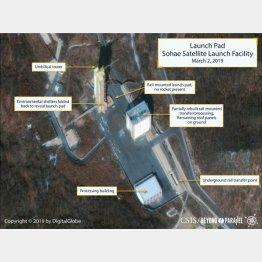 東倉里のミサイル発射発射場(C)ロイター