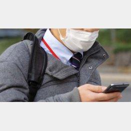 マスクは必需品(C)日刊ゲンダイ