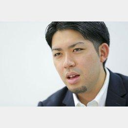 「辺野古」県民投票の会代表の元山仁士郎氏/(C)日刊ゲンダイ