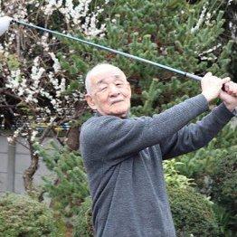 神津善行さん<1>プロ入り前の樋口久子さんにクラブを…