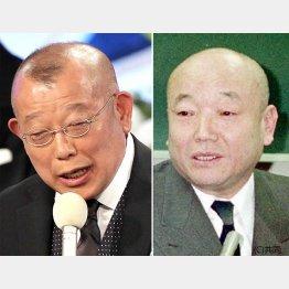 笑福亭鶴瓶(左)と桂枝雀/(C)日刊ゲンダイ