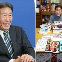 プリベント少額短期保険社長・花岡裕之さん 趣味関連の本に囲まれて