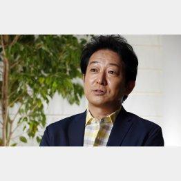 今回も固辞した俳優の辰巳琢郎氏(C)日刊ゲンダイ