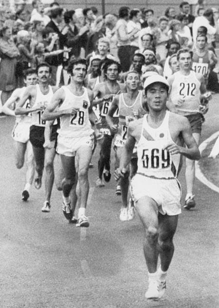1972年ミュンヘンオリンピックのケニア選手団