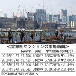 不動産バブル崩壊?首都圏マンション契約率50%割れの衝撃