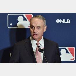 MLBコミッショナーのロブ・マンフレッド(C)ロイター/USA TODAY Sports