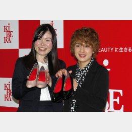 尼神インターの誠子(左)と渚/(C)日刊ゲンダイ
