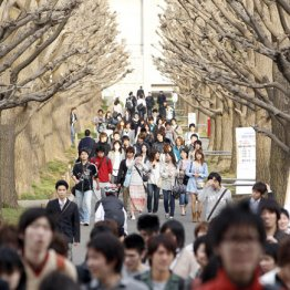 大学の系列校は学費も高額(慶應義塾大学の日吉キャンパス)