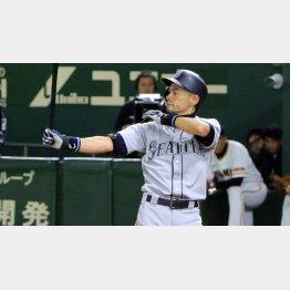 メジャーで日本人として初めて首位打者、盗塁王のタイトルを獲得(C)日刊ゲンダイ