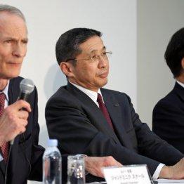 どうなる?(左からスナール会長、西川社長、益子会長)