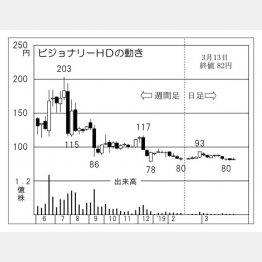 ビジョナリーHD(C)日刊ゲンダイ
