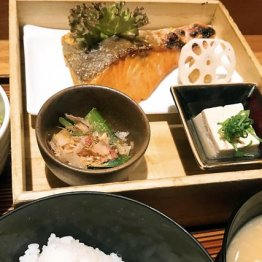 Hitoshinayaの「鮭膳」/