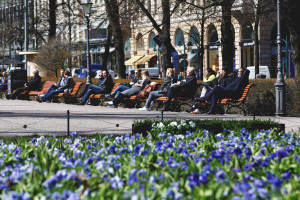 1位フィンランドの首都ヘルシンキの街並(C)ロイター