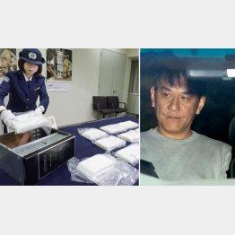 関空でコカイン130キロが押収されたこともあった(逮捕されたピエール瀧・右)/(C)共同通信社
