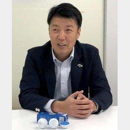 キャロウェイゴルフの内貴勝彦さん(C)日刊ゲンダイ