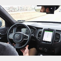 5G普及で自動運転も進展(C)共同通信社