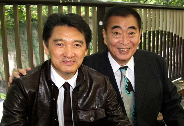 萩原健一と芸能リポーターの梨元勝さん(故人)、2010年日刊ゲンダイの対談で(C)日刊ゲンダイ