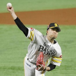ソフトB千賀 今季初球161キロの圧巻でメジャー移籍に前進