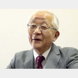政治ジャーナリストの田﨑史郎さん(C)日刊ゲンダイ