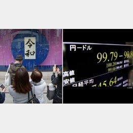 令和元年は円高要因だらけ(C)日刊ゲンダイ