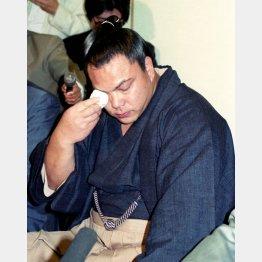 大勢のファンが惜しんだ千代の富士の引退(1991年5月)/(C)共同通信社
