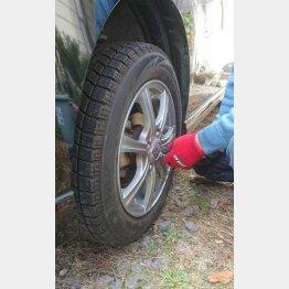 タイヤの空気充填や、インパクトレンチなどさまざまな用途で利用されている(C)日刊ゲンダイ