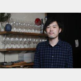 「PANORAMA KITCHEN」の川崎輪裕介さん(C)日刊ゲンダイ