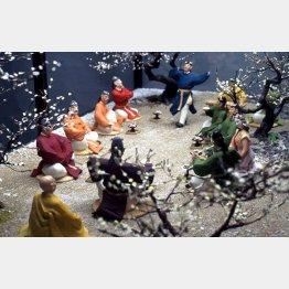 「梅花の宴」(提供)太宰府展示館