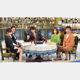 「人生最高レストラン」13回目放送のゲストはユースケ・サンタマリア(C)TBS