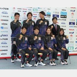 競泳世界選手権代表(C)日刊ゲンダイ