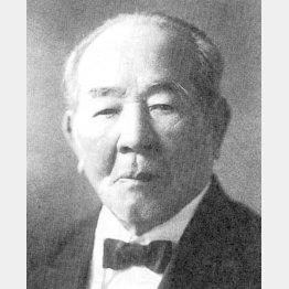 「日本資本主義の父」の渋沢栄一(C)共同通信社