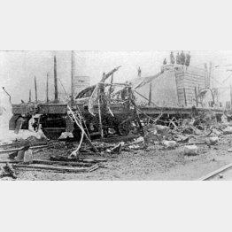 張作霖爆殺事件(奉天軍閥の指導者張作霖は専用列車で奉天に向かう途中、京奉線で爆破され暗殺された)/(C)共同通信社