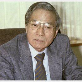 元伊藤忠商事会長の瀬島龍三氏(故人)/(C)共同通信社