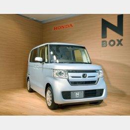 ホンダの「N-BOX」が2年連続首位/(C)共同通信社