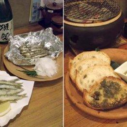 炭味家えびす丸(梅田)エタリの塩辛を使った逸品の数々を