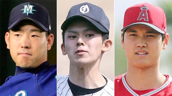 新たな怪物誕生(左から菊池、佐々木朗希、大谷)/(C)日刊ゲンダイ