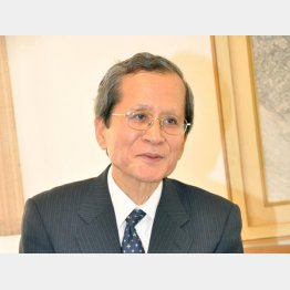 元駐イラン大使の駒野欽一氏(C)共同通信社