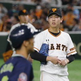 吉川尚が離脱 対戦1巡で巨人によぎる原監督復帰初年の悪夢