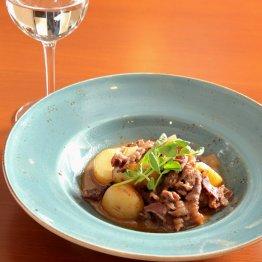 【牛肉とジャガイモのすき焼き風ミルク煮】すき焼きと肉じゃががコラボ