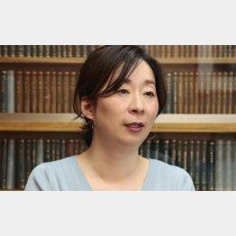 作家の朱野帰子さん(C)日刊ゲンダイ