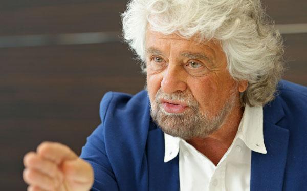 イタリア「五つ星運動」共同設立者のベッペ・グリッロ氏(C)日刊ゲンダイ