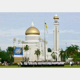 首都にある豪華絢爛なモスク(澤田紘氏提供)