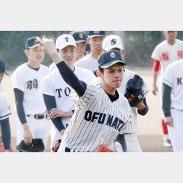 U18高校日本代表の中でも実力は抜けている(C)日刊ゲンダイ