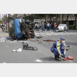 事故が起きた現場(C)日刊ゲンダイ