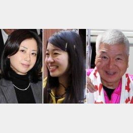 (左から)当選した田中美絵子、橋本侑樹、マック赤坂の3氏(C)日刊ゲンダイ