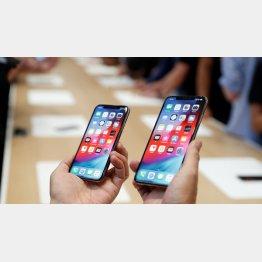 iPhoneは新型の発表を待つべし(C)ロイター
