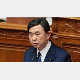 自民党の吉田博美参院幹事長(C)日刊ゲンダイ