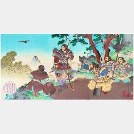 神武天皇(中央)/(C)Pictures From History/ニューズコム/共同通信イメージズ